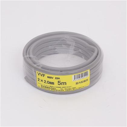 VVFケーブル600Vビニル絶縁ビニルシースケーブル  直径(mm):150.高さ(mm):50 VVF2X2.0M05