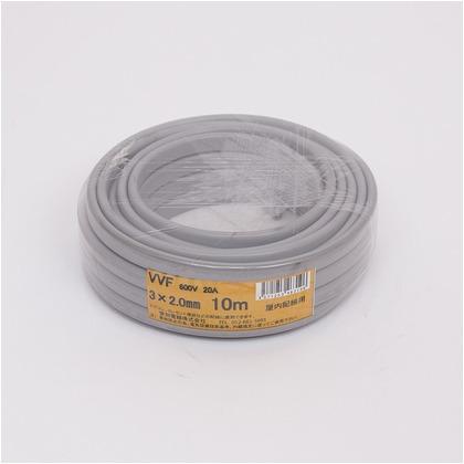 VVFケーブル600Vビニル絶縁ビニルシースケーブル  直径(mm):180.高さ(mm):60 VVF3X2.0M10