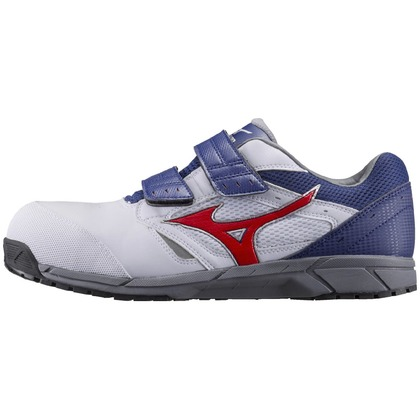 作業用靴ALMIGHTYLS ホワイト×オレンジ×ネイビー 24.5cm C1GA170101245