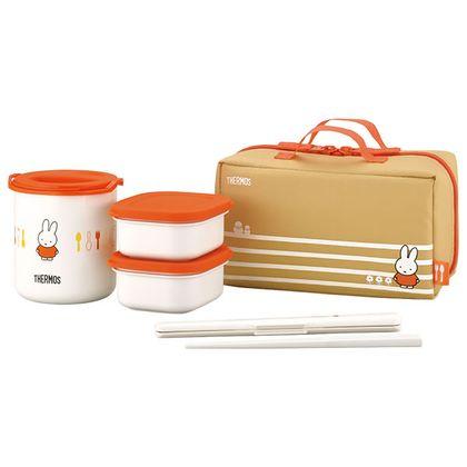 サーモス 保温弁当箱 オレンジ DBQ-253B
