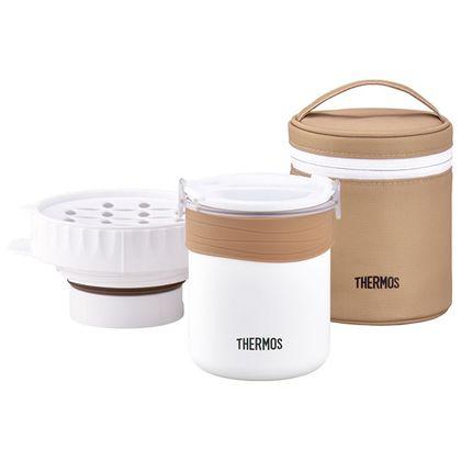 サーモス ごはんが炊ける弁当箱 ホワイト(WH) JBS-360