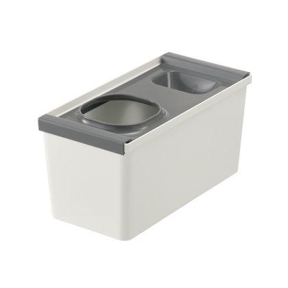 リッチェル システムキッチン 引き出し用整理ケース レジ袋収納ボックス トトノ