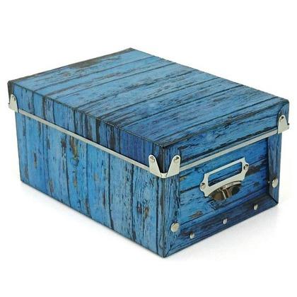 東洋ケース アンティークスタイルボックス S ブルー ASB-S-BL