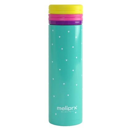 和平フレイズ メリプリ ハートマグボトル 300ml グリーン MM-9741