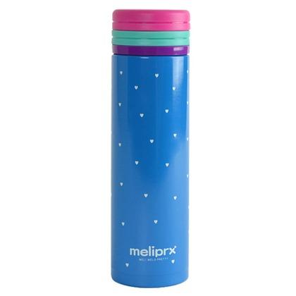和平フレイズ メリプリ ハートマグボトル 300ml ブルー MM-9740
