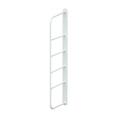 ショートシェルフフレーム4 白 幅2cm×奥行11.5cm×高さ39cm WFW-44 1 個