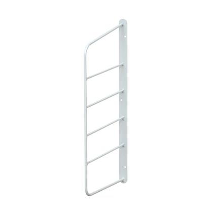 ショートシェルフフレーム6 白 幅2cm×奥行16.5cm×高さ39cm WFW-46 1 個