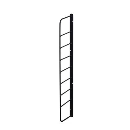 シェルフフレーム4 黒 幅2cm×奥行11.5cm×高さ57cm WFK-54 1 個