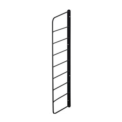シェルフフレーム6 黒 幅2cm×奥行16.5cm×高さ57cm WFK-56 1 個