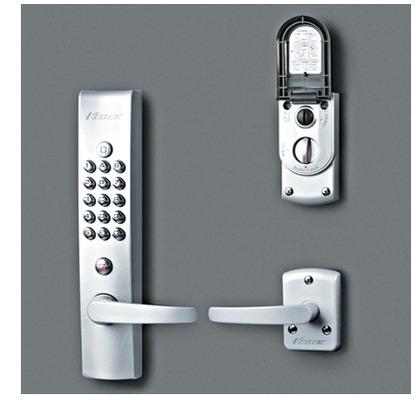 キーレックス4000 自動施錠 プラグ切替 シルバー塗装  K423P AS