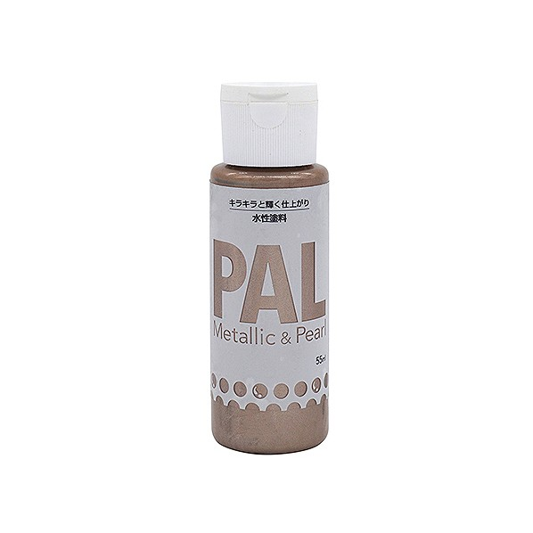 ニッペホーム 水性ホビー用塗料 PAL シャンパンゴールド