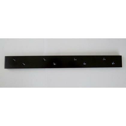 Walist ウォリスト束ねる金具4本用 黒 サイズ:356mm WAT-025