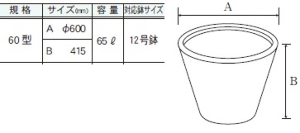 ファイバーグラス鉢カバー ランプ