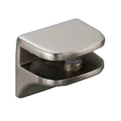 プレートサポート 強化ガラス棚板セット W450 サテン仕上  2885VA2-450-SET