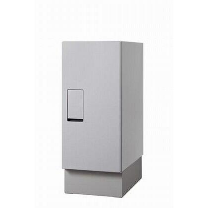 ナスタ 宅配ボックス 据置タイプ SMART ライトグレー KS-TLT240-S500-L+KS-TLT240-SH100-L