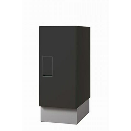 ナスタ 宅配ボックス 据置タイプ SMART ブラック KS-TLT240-S500-BK+KS-TLT240-SH100-L