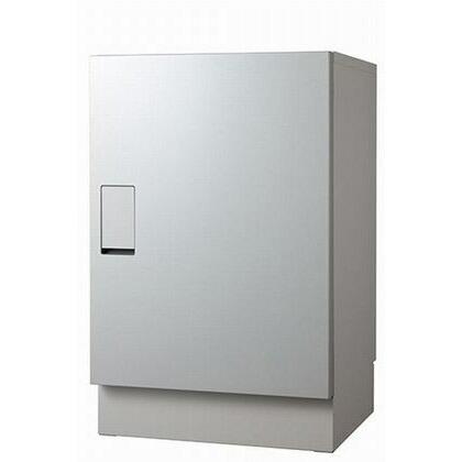 ナスタ 宅配ボックス 据置タイプ SMART ライトグレーxメタリックシルバー KS-TLT450-S600-LM+KS-TLT450-SH100-L