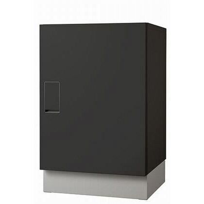 ナスタ 宅配ボックス 据置タイプ SMART ブラックxブラック KS-TLT450-S600-BB+KS-TLT450-SH100-L