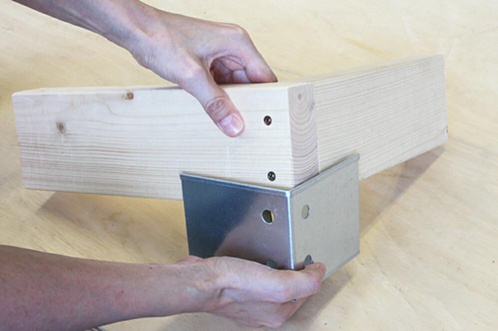 2×4材専用 位置しるべ クランプ 【L字】