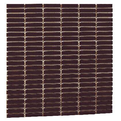 【送料無料】Famiage mosaic ファミアージュモザイク スマートダークグレー02 L300×H300×t6mm 181901310 25枚