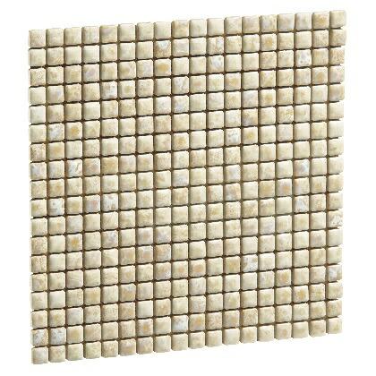 【送料無料】Famiage mosaic ファミアージュモザイク フォンテベージュ18 L309×H309×t7mm 181902210 20枚