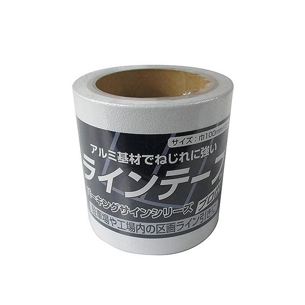 ニッペホーム パーキングサイン ラインテープ 白 巾:100mm 長さ:5m