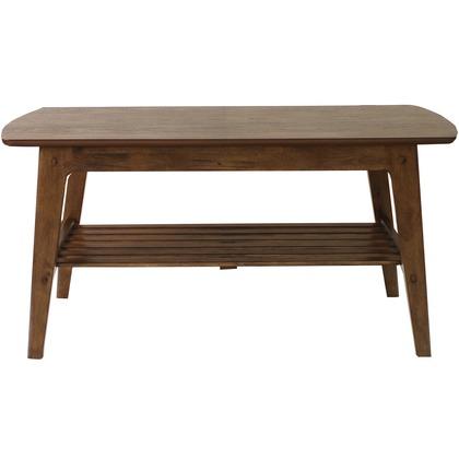 【送料無料】Rosie ロージー センターテーブル ブラウン 幅1050×奥行500×高さ500�o 82-752  便利グッズ(文具・OA機器)文具・OA機器