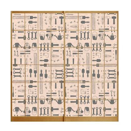 ミッキー障子紙【総柄ツール】  91cm×182cm  2 枚組
