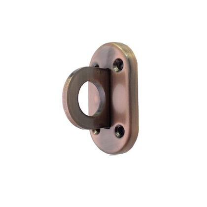 HANG H-602 ブロンズ色(ブロンズめっき) A:32.5 B:60.5 C:27 D:7 E:17Φ 穴径:4Φ(mm) MG-419