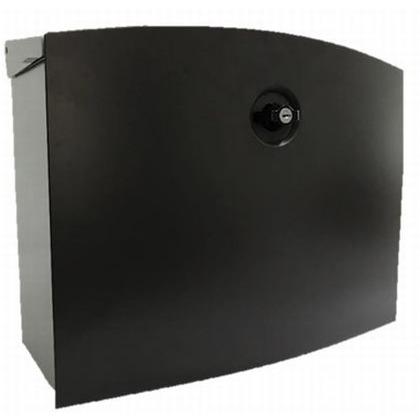 メール便ポスト エムボ 本体:シルバー 取り出し口:ブラウン W410xD190xH320mm E-3