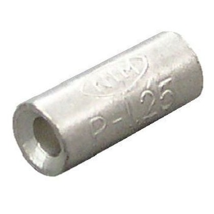 銅線用 裸圧着スリーブ P形  幅70mm 高100mm 奥行10mm P1.25 20 個
