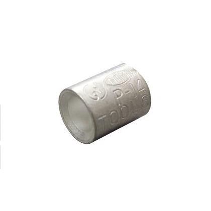銅線用 裸圧着スリーブ P形  幅70mm 高100mm 奥行10mm P14 10 個