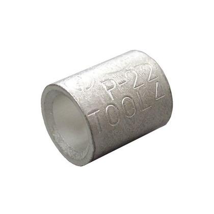 銅線用 裸圧着スリーブ P形  幅70mm 高100mm 奥行10mm P22 5 個