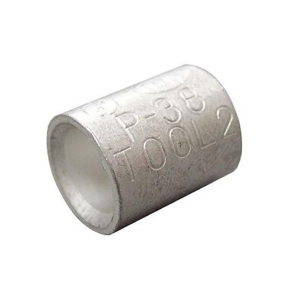 銅線用 裸圧着スリーブ P形  幅70mm 高100mm 奥行10mm P38 5 個