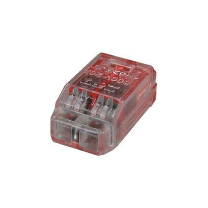 クイックロック 差込形電線コネクタ  幅70mm 高100mm 奥行10mm QLX2 5 個