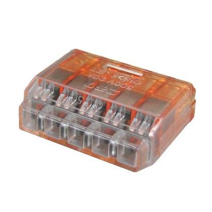 クイックロック 差込形電線コネクタ  幅70mm 高100mm 奥行10mm QLX5 5 個