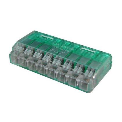 クイックロック 差込形電線コネクタ  幅70mm 高100mm 奥行10mm QLX8 5 個