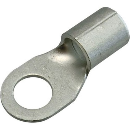 銅線用 裸圧着端子 R形 丸形  幅70mm 高100mm 奥行10mm R38-6S 3 個