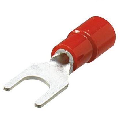 銅線用 絶縁被覆付圧着端子 Y形 先開形  幅70mm 高100mm 奥行10mm TMEV1.25Y3N 20 個