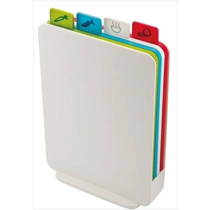 インデックス付まな板 アドバンス2.0 スリム ホワイト 幅22.5×奥行8×高さ32.5? 60136