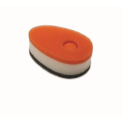 ソーピースポンジ オレンジ 幅7.5×奥行12×高さ6? 850864