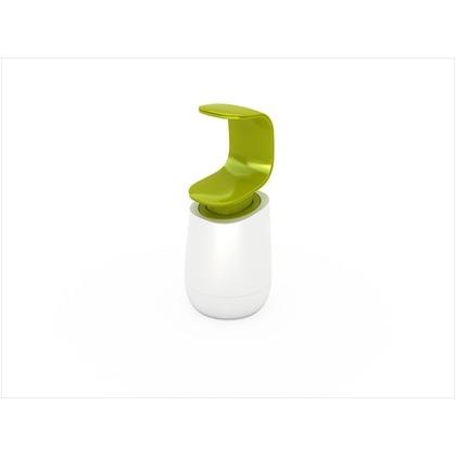 C-ポンプ ホワイト・グリーン 幅8.5×奥行8.5×高さ19? 850536