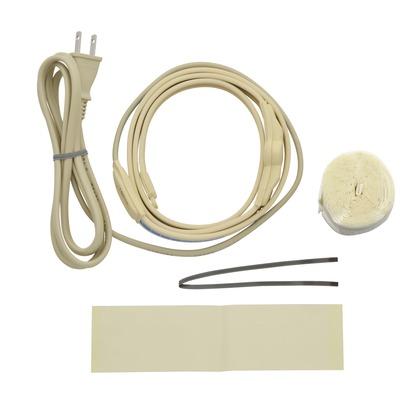 これカモ 凍結防止ヒーター 1m サーモスタットつき (水道管の凍結防止 金属管用)   GA-KE010