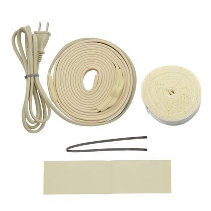 これカモ 凍結防止ヒーター 2m サーモスタットつき (水道管の凍結防止 金属管用)   GA-KE011