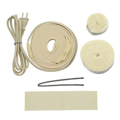 これカモ 凍結防止ヒーター 3m サーモスタットつき (水道管の凍結防止 金属管用)   GA-KE012