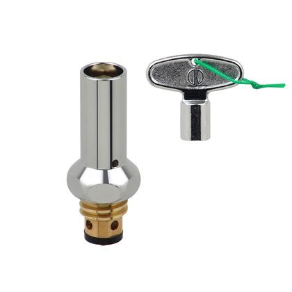 これカモ 凍結防止水栓上部 (蛇口の凍結を防止 寒波も安心 取付簡単 カギ式)   GA-KE018