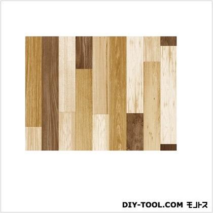 明和グラビア 貼ってはがせるテーブルデコレーション 寄せ木 90cmX150cm 寄せ木
