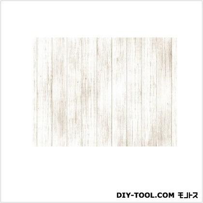 明和グラビア 貼ってはがせるテーブルデコレーション ホワイトウッド IV アイボリー 90cmX150cm IV