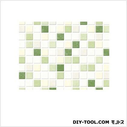 明和グラビア 貼ってはがせるテーブルデコレーション モザイクタイル GR グリーン 30cmX150cm GR