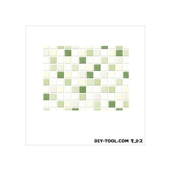 明和グラビア 貼ってはがせるテーブルデコレーション モザイクタイル GR グリーン 90cmX150cm GR